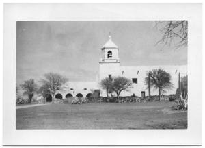 Primary view of object titled '[Mission in Goliad, Texas]'.