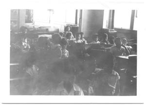 Primary view of object titled '[Children at School House # 1]'.