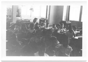 Primary view of object titled '[Children at School House # 2]'.