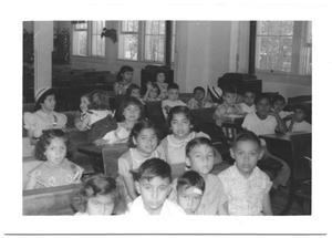 Primary view of object titled '[Children at School House # 3]'.