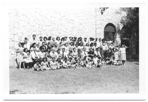 Primary view of object titled '[Group Picture of Members of the Second Mexican Conference #1]'.