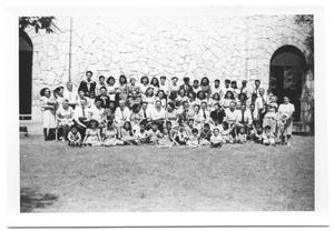 Primary view of object titled '[Group Picture of Members of the Second Mexican Conference #2]'.