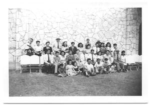 Primary view of object titled '[Group Picture of Members of the Second Mexican Conference #5]'.
