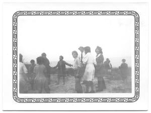 Primary view of object titled '[Children Playing by the Seashore]'.