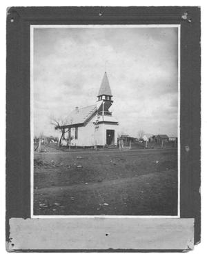 Primary view of object titled '[A Presbyterian Chapel]'.