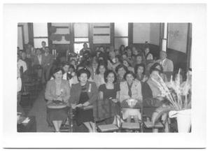 Primary view of object titled '[Group of Women at a Presbyterian Congregation]'.