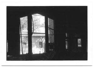 Primary view of object titled '[Large Window in a Dark Room]'.