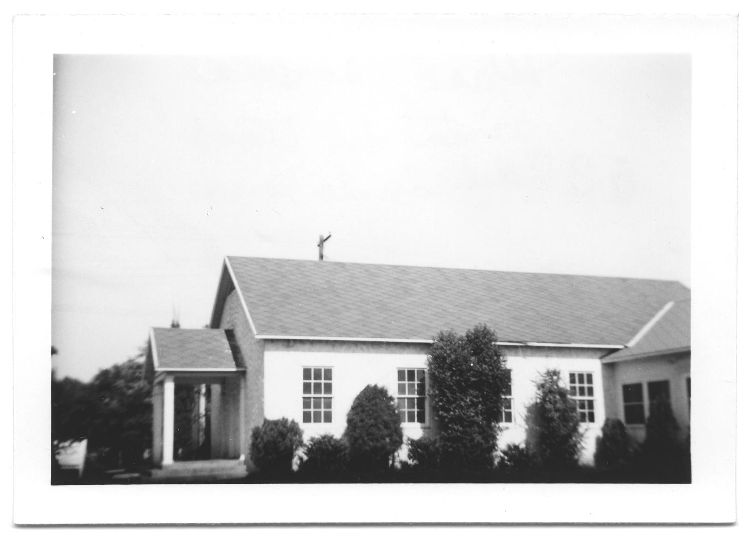 [Side View of a Large Church Building]                                                                                                      [Sequence #]: 1 of 2