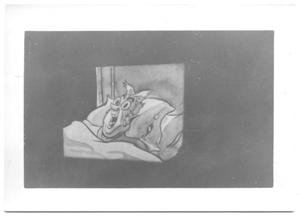 Primary view of object titled '[Cartoon Character from a Film Strip]'.