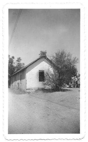 Small concrete house the portal to texas history for Concrete house texas