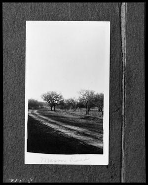 Primary view of object titled '[Photograph of Mason Road]'.