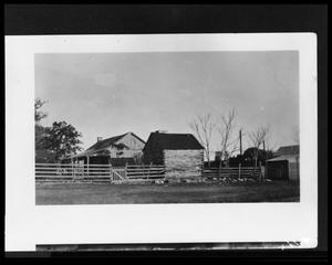 Primary view of object titled '[Photograph of Cordes Home]'.