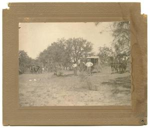 [Photograph of Fishermen at the Llano River]