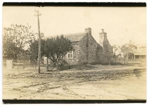 Primary view of object titled '[Photograph of Tatsch House]'.