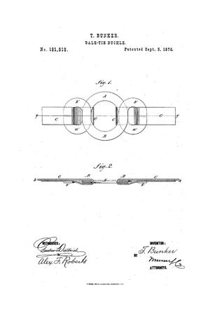 Primary view of object titled 'Improvement in Bale-Tie Buckles.'.