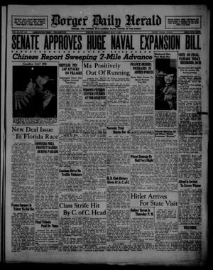 Borger Daily Herald (Borger, Tex.), Vol. 12, No. 141, Ed. 1 Tuesday, May 3, 1938