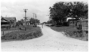 [South San Gabriel River Detour on U.S. Highway 81]