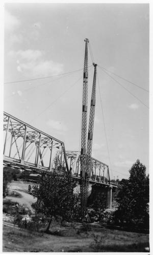 Primary view of object titled '[North San Gabriel River Bridge on U.S. Highway 81]'.
