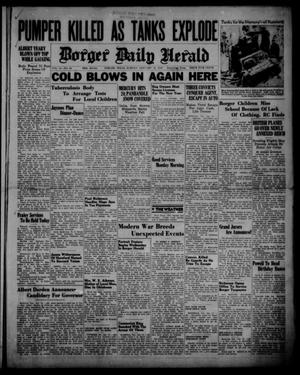Primary view of object titled 'Borger Daily Herald (Borger, Tex.), Vol. 14, No. 44, Ed. 1 Sunday, January 14, 1940'.