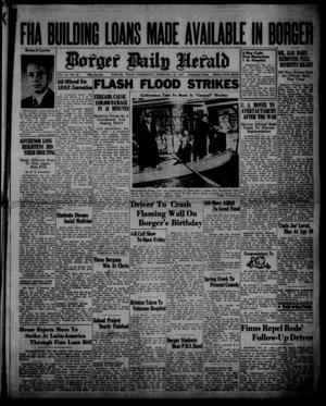 Primary view of object titled 'Borger Daily Herald (Borger, Tex.), Vol. 14, No. 83, Ed. 1 Wednesday, February 28, 1940'.