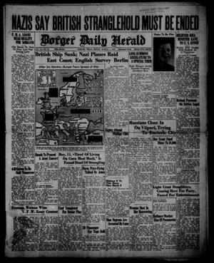 Primary view of object titled 'Borger Daily Herald (Borger, Tex.), Vol. 14, No. 85, Ed. 1 Friday, March 1, 1940'.