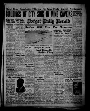 Borger Daily Herald (Borger, Tex.), Vol. 14, No. 87, Ed. 1 Monday, March 4, 1940