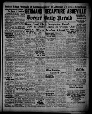 Primary view of object titled 'Borger Daily Herald (Borger, Tex.), Vol. 14, No. 156, Ed. 1 Thursday, May 23, 1940'.
