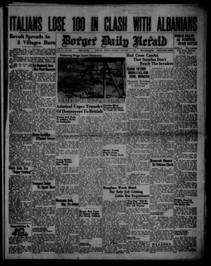 Primary view of object titled 'Borger Daily Herald (Borger, Tex.), Vol. 14, No. 224, Ed. 1 Sunday, August 11, 1940'.