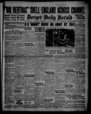 Primary view of object titled 'Borger Daily Herald (Borger, Tex.), Vol. 14, No. 226, Ed. 1 Tuesday, August 13, 1940'.