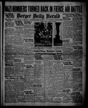 Primary view of object titled 'Borger Daily Herald (Borger, Tex.), Vol. 14, No. 259, Ed. 1 Friday, September 20, 1940'.