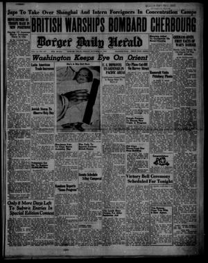 Primary view of object titled 'Borger Daily Herald (Borger, Tex.), Vol. 14, No. 277, Ed. 1 Friday, October 11, 1940'.