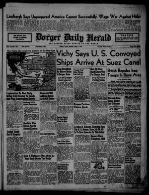 Primary view of object titled 'Borger Daily Herald (Borger, Tex.), Vol. 15, No. 139, Ed. 1 Sunday, May 4, 1941'.