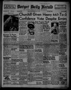 Primary view of object titled 'Borger Daily Herald (Borger, Tex.), Vol. 15, No. 142, Ed. 1 Wednesday, May 7, 1941'.
