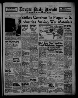 Borger Daily Herald (Borger, Tex.), Vol. 15, No. 146, Ed. 1 Monday, May 12, 1941