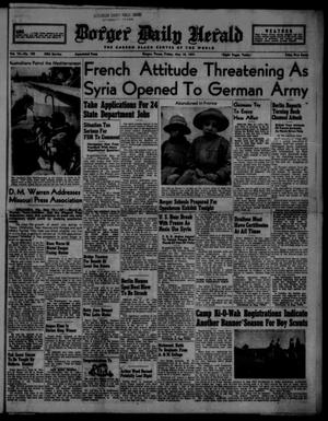 Borger Daily Herald (Borger, Tex.), Vol. 15, No. 150, Ed. 1 Friday, May 16, 1941