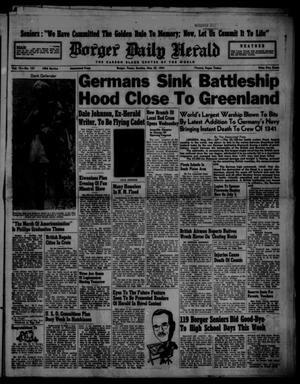 Borger Daily Herald (Borger, Tex.), Vol. 15, No. 157, Ed. 1 Sunday, May 25, 1941