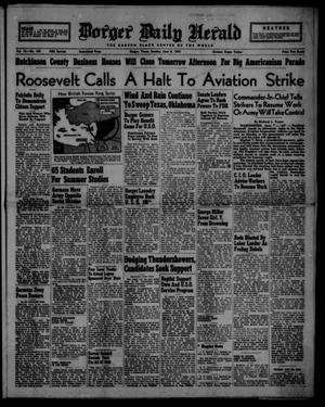 Primary view of object titled 'Borger Daily Herald (Borger, Tex.), Vol. 15, No. 169, Ed. 1 Sunday, June 8, 1941'.