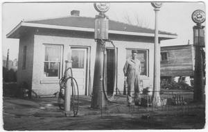 Primary view of object titled '[Gas Station]'.