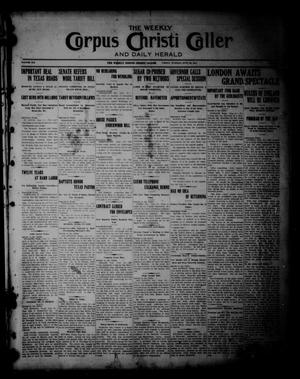 The Weekly Corpus Christi Caller (Corpus Christi, Tex.), Vol. 19, No. 26, Ed. 1 Friday, June 23, 1911