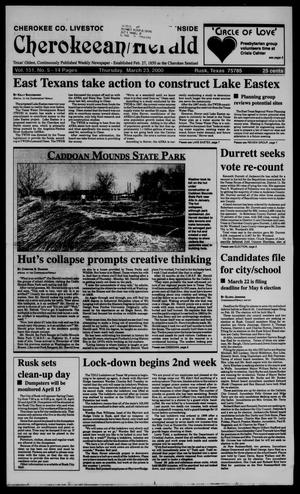 Cherokeean/Herald (Rusk, Tex.), Vol. 151, No. 5, Ed. 1 Thursday, March 23, 2000