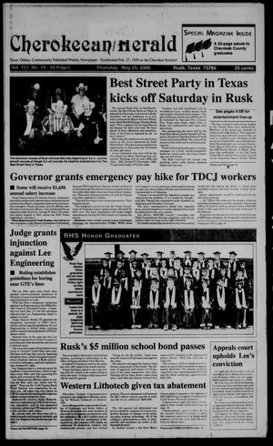 Cherokeean/Herald (Rusk, Tex.), Vol. 151, No. 14, Ed. 1 Thursday, May 25, 2000