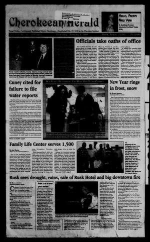 Cherokeean/Herald (Rusk, Tex.), Vol. 151, No. 46, Ed. 1 Thursday, January 4, 2001