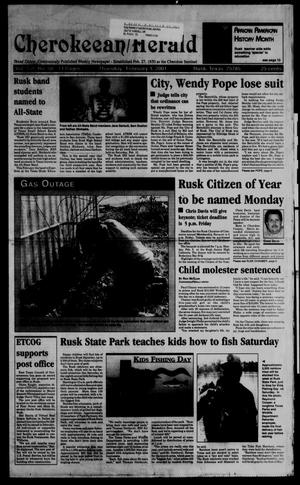 Cherokeean/Herald (Rusk, Tex.), Vol. 151, No. 50, Ed. 1 Thursday, February 1, 2001