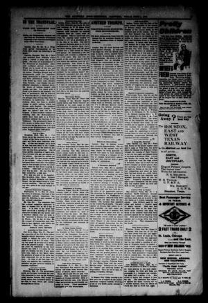 Primary view of object titled 'Caldwell News-Chronicle. (Caldwell, Tex.), Vol. 21, No. 1, Ed. 1 Friday, June 1, 1900'.