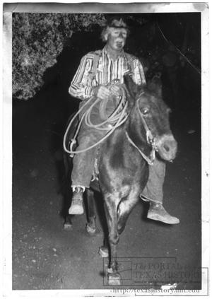 Primary view of object titled '[Rodeo Clown]'.