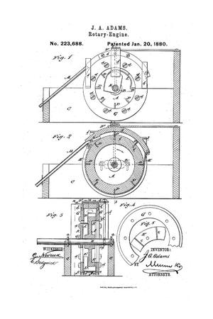 Primary view of object titled 'Rotary-Engine.'.