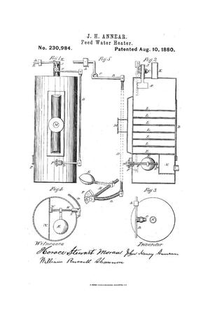 Primary view of object titled 'Feed Water Heater.'.