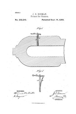 Primary view of object titled 'Primer for Cannon.'.
