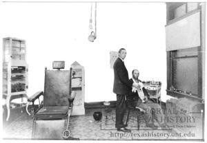 Primary view of object titled '[Doctor's Greer's Office'.