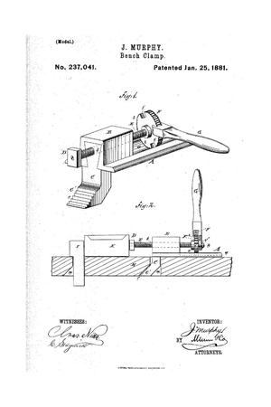 Primary view of object titled 'Bench Clamp.'.